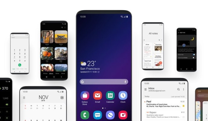 Samsung One Ui Android 9 Header