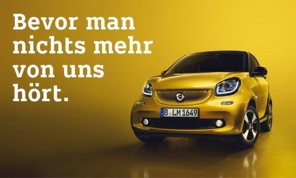 Smart Benziner Kampagne