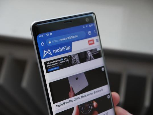 Sony Xperia Xz3 Test2