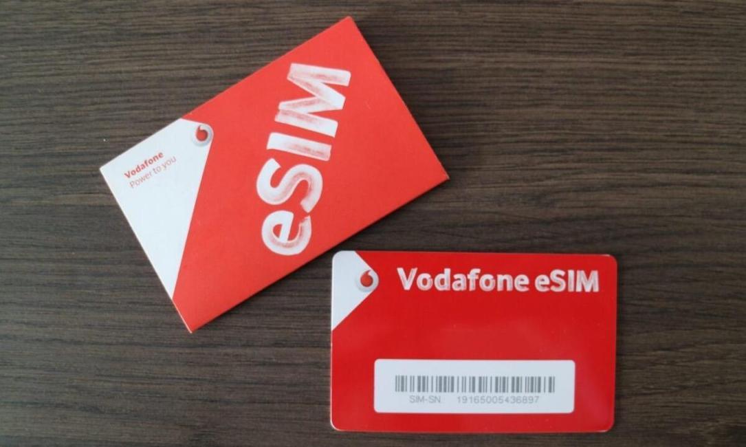 Vodafone Esim Header