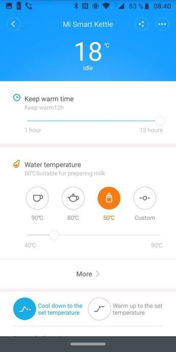xiaomi Mi Smart Wasserkocher App 2