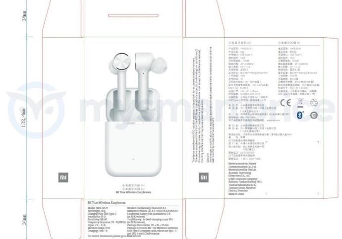 Xiaomi Mi True Wireless Earphones 2
