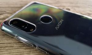 Zte Axon 9 Pro Case Rueckseite
