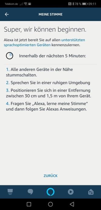 Amazon Echo Alexa Spracherkennung Anleitung