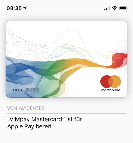 Apple Pay Vimpay Prepaid