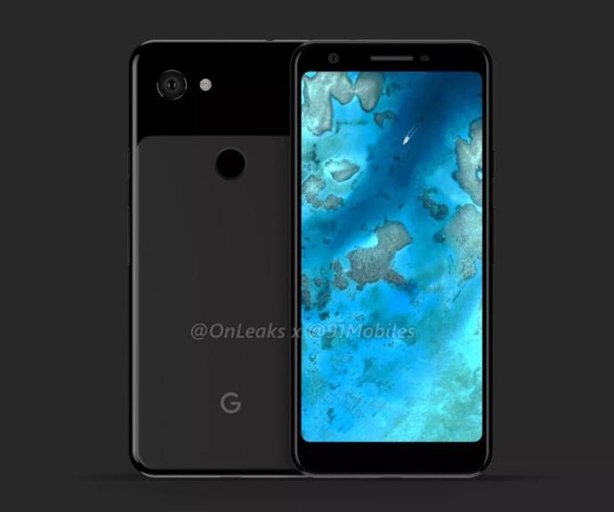 Google Pixel 3 Lite Render