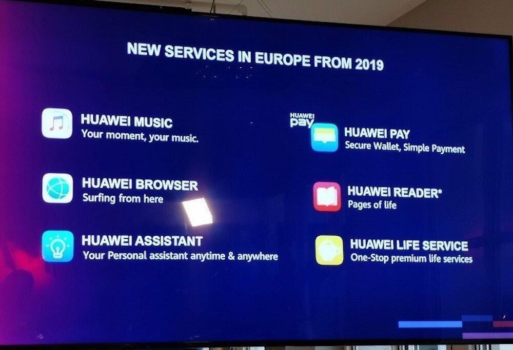 Huawei Dienste 2019