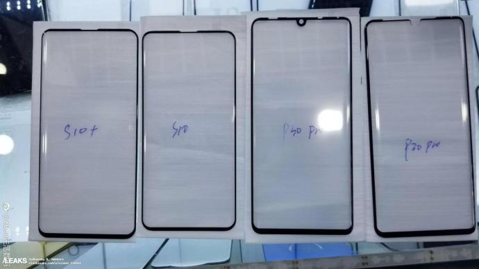 Huawei P30 Pro Samsung Galaxy S10 Screen