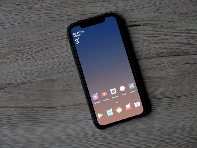 Iphone Android Homescreen Header