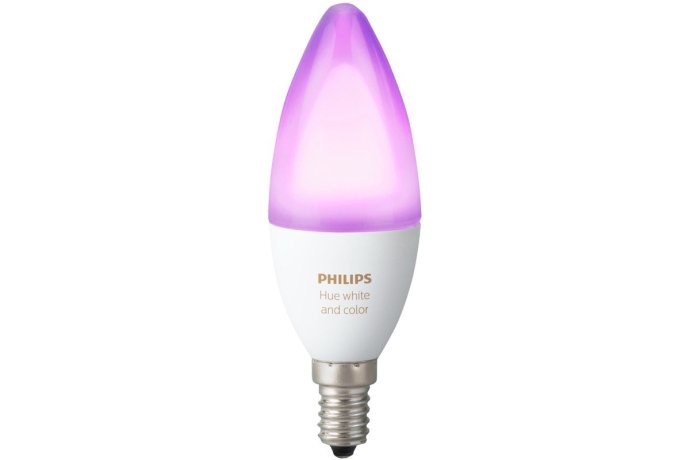 Philips Hue Lampe E14 Farbe