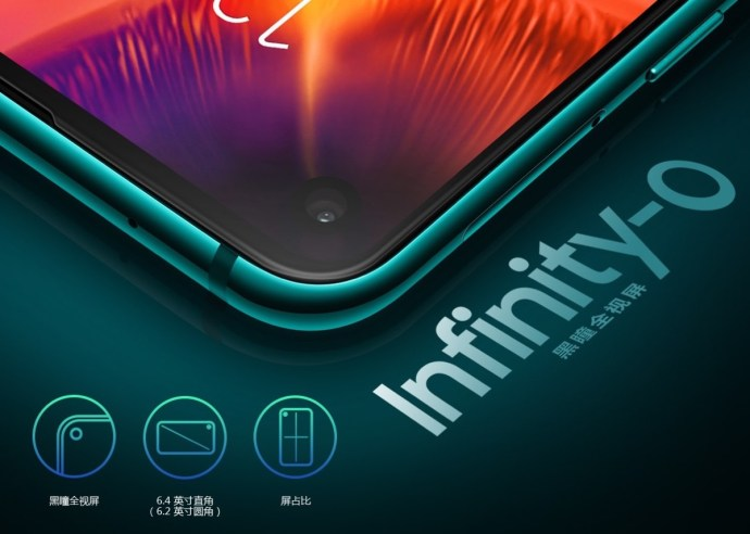 Samsung Galaxy A8s Infinity O Display