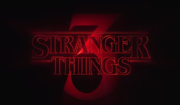 Stranger Things 3 Logo Header