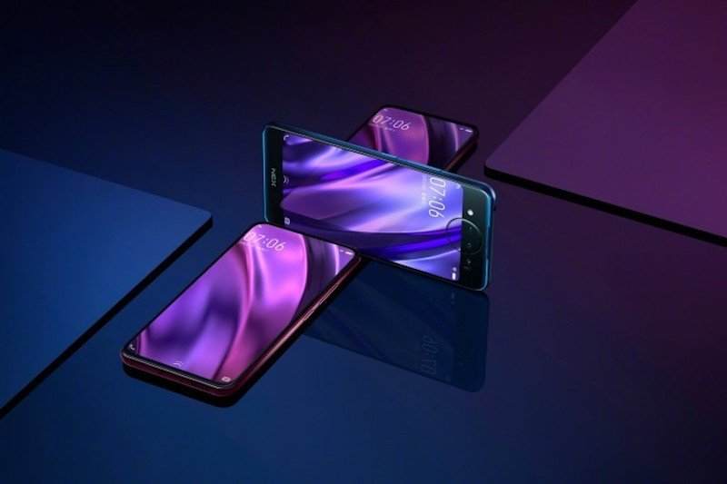 Vivo Nex Dual Display Edition Farben
