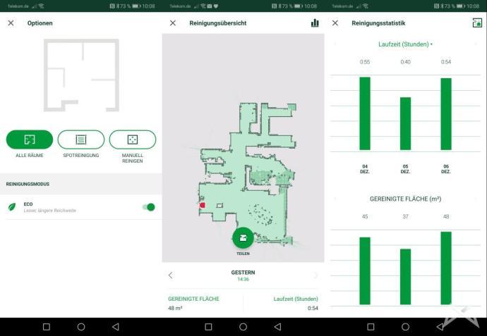 Vorwerk Kobold Vr 300 App Statistik Screenshots2018 12 07 10.08.58 Kopie