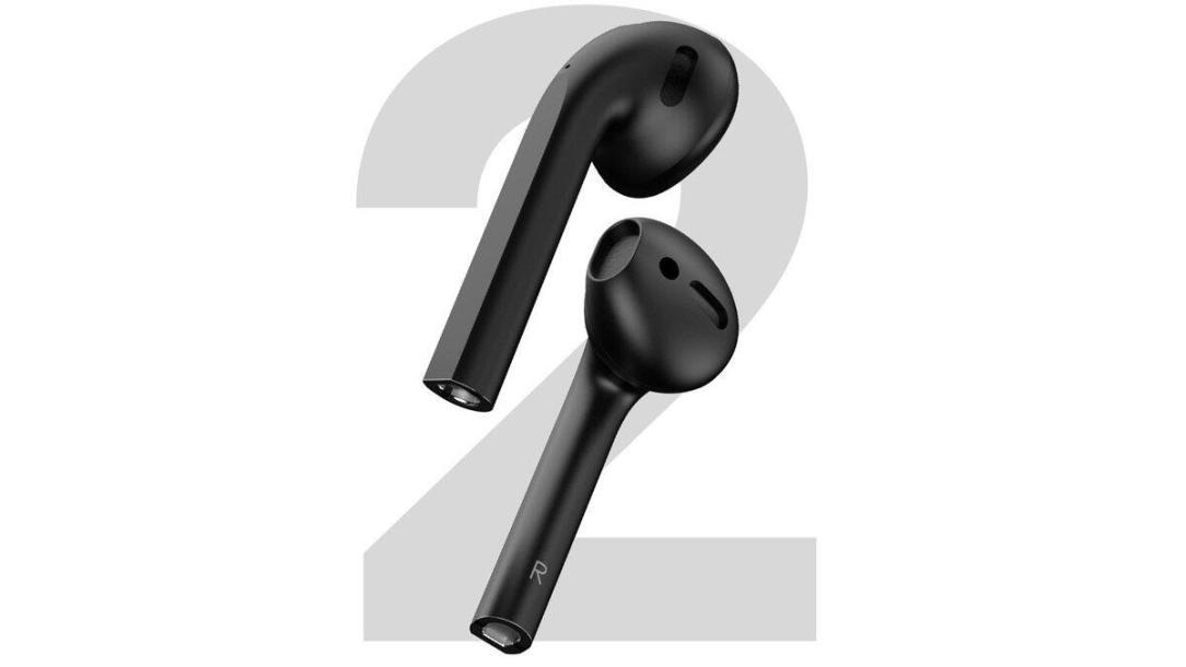 Apple Airpods 2 Schwarz Konzept