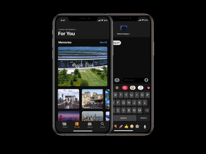 Apple Ios 13 Konzept Header