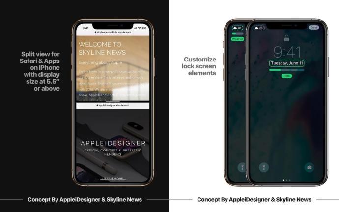 Apple Ios 13 Konzept