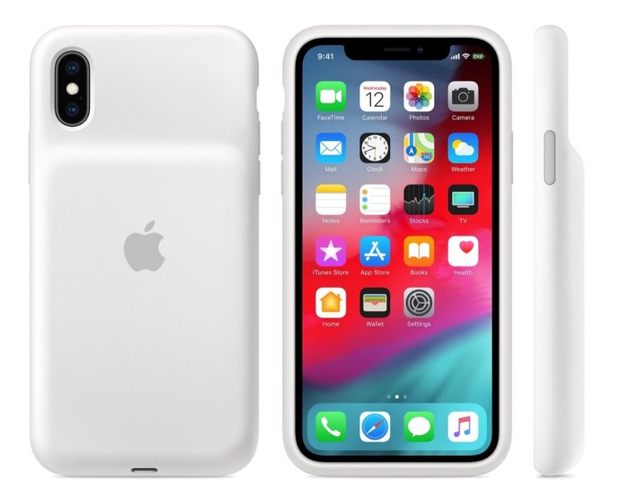 Apple Smart Battery Case Weiss