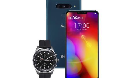 Bild Lg V40 Thinq Watch W7