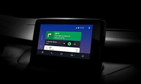 Google Android Auto Header