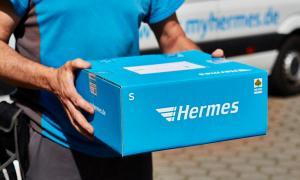 Hermes Paket Header