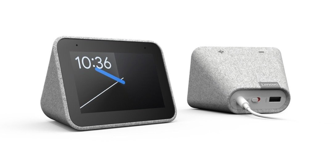 Lenovo Smart Clock Header