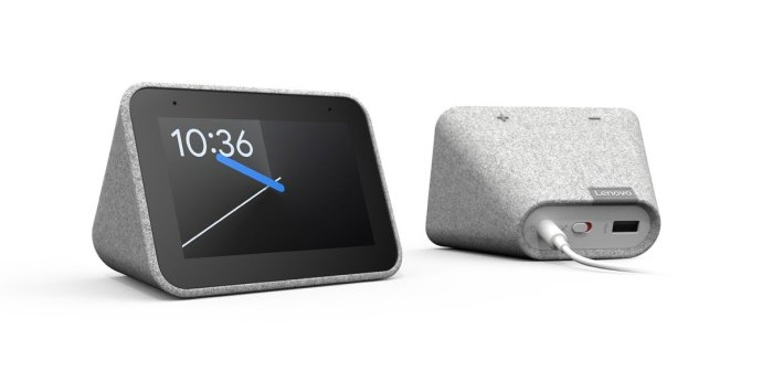 Lenovo Smart Clock Header