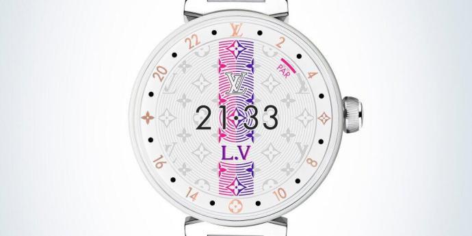 Louis Vuitton Tambour Horizon Pure White 2