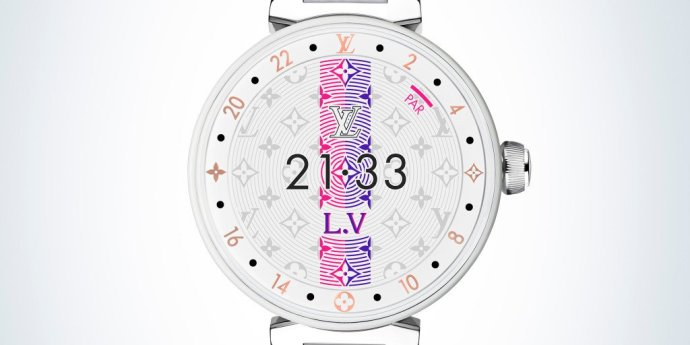 Louis Vuitton Tambour Horizon Pure White 2