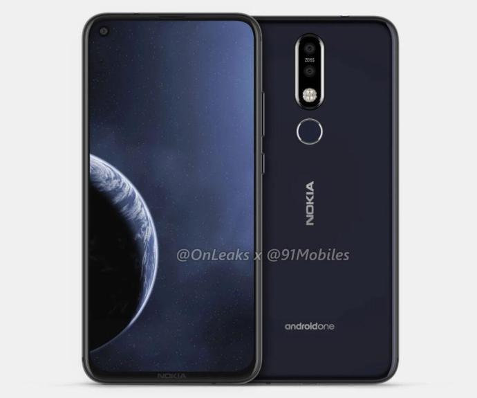 Nokia 8.1 Plus Render4