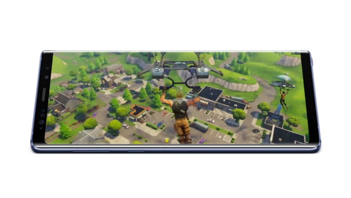 Samsung Galaxy Fortnite Spiel