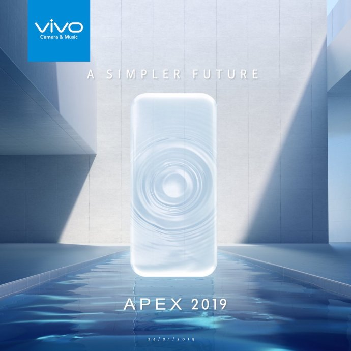 Vivo Apex 2019 Teaser
