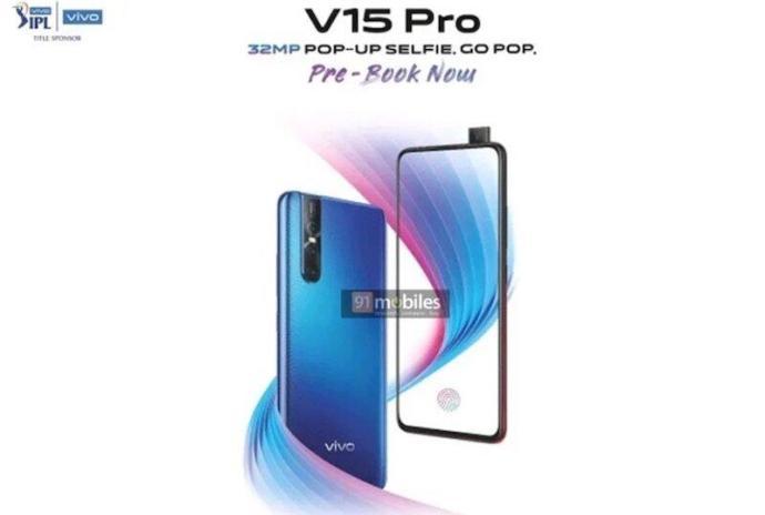 Vivo V15 Pro Leak Poster