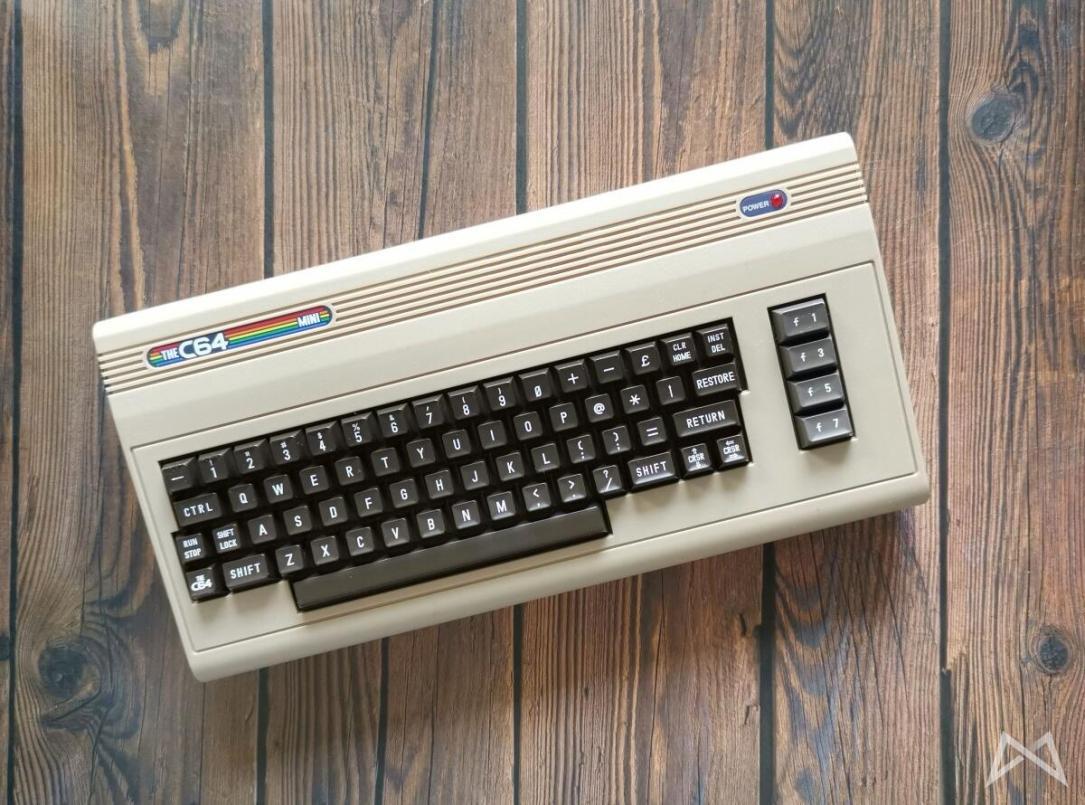 Commodore C64 Mini Header