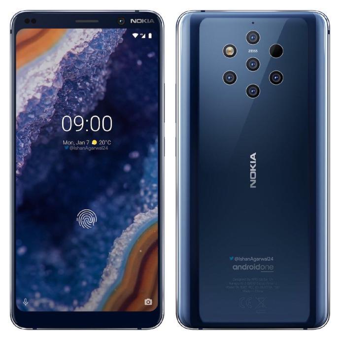 Nokia 9 Pureview Blau