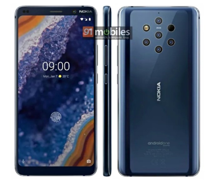 Nokia 9 Pureview Leak Press