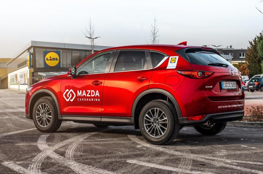 Press Pic Mazda Carsharing Lidl