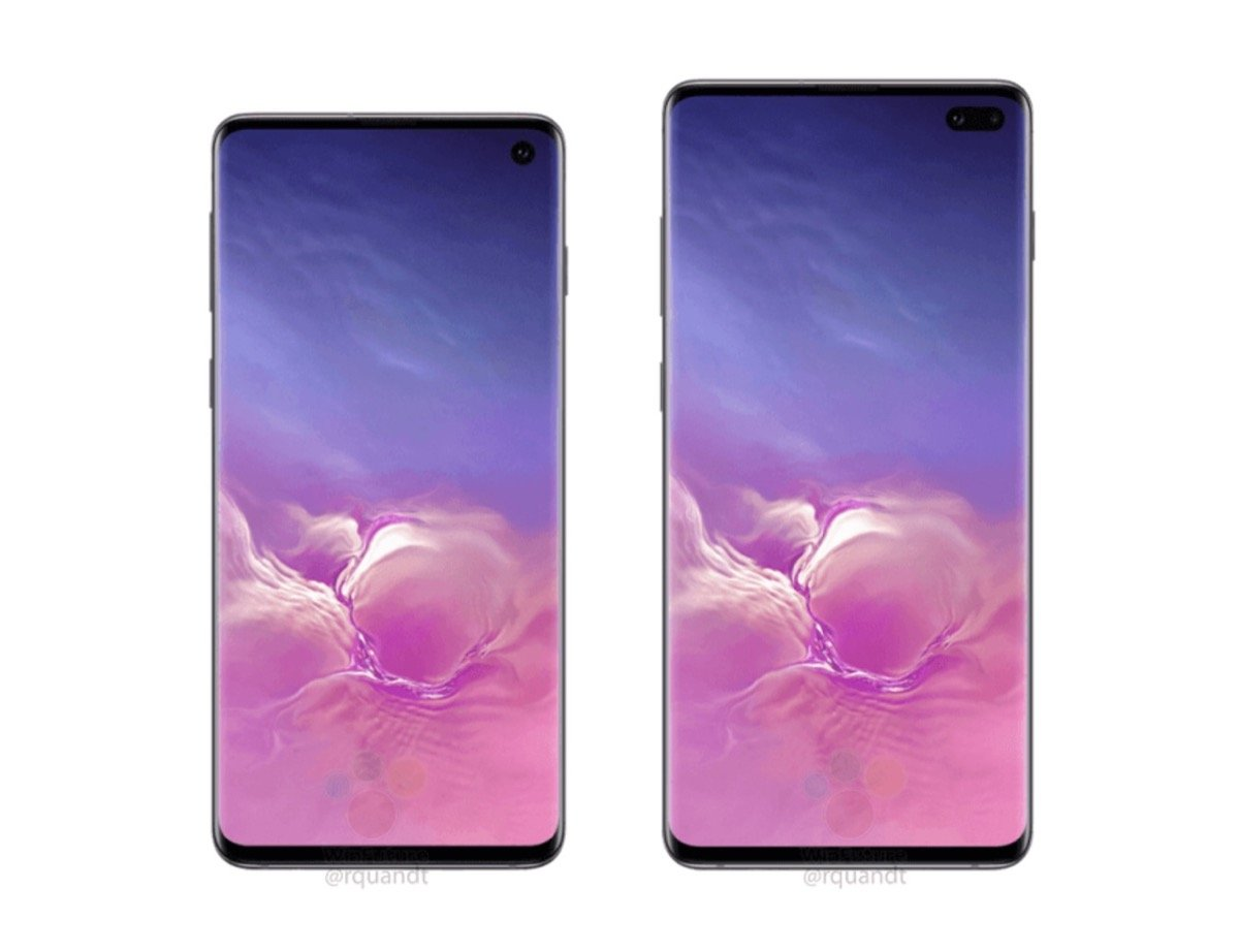 Samsung Galaxy S10 Plus Leak Front