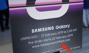 Samsung Galaxy S10 Teaser Poster