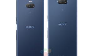 Sony Xperia 10 Plus Back