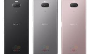 Sony Xperia Xa3 Farben