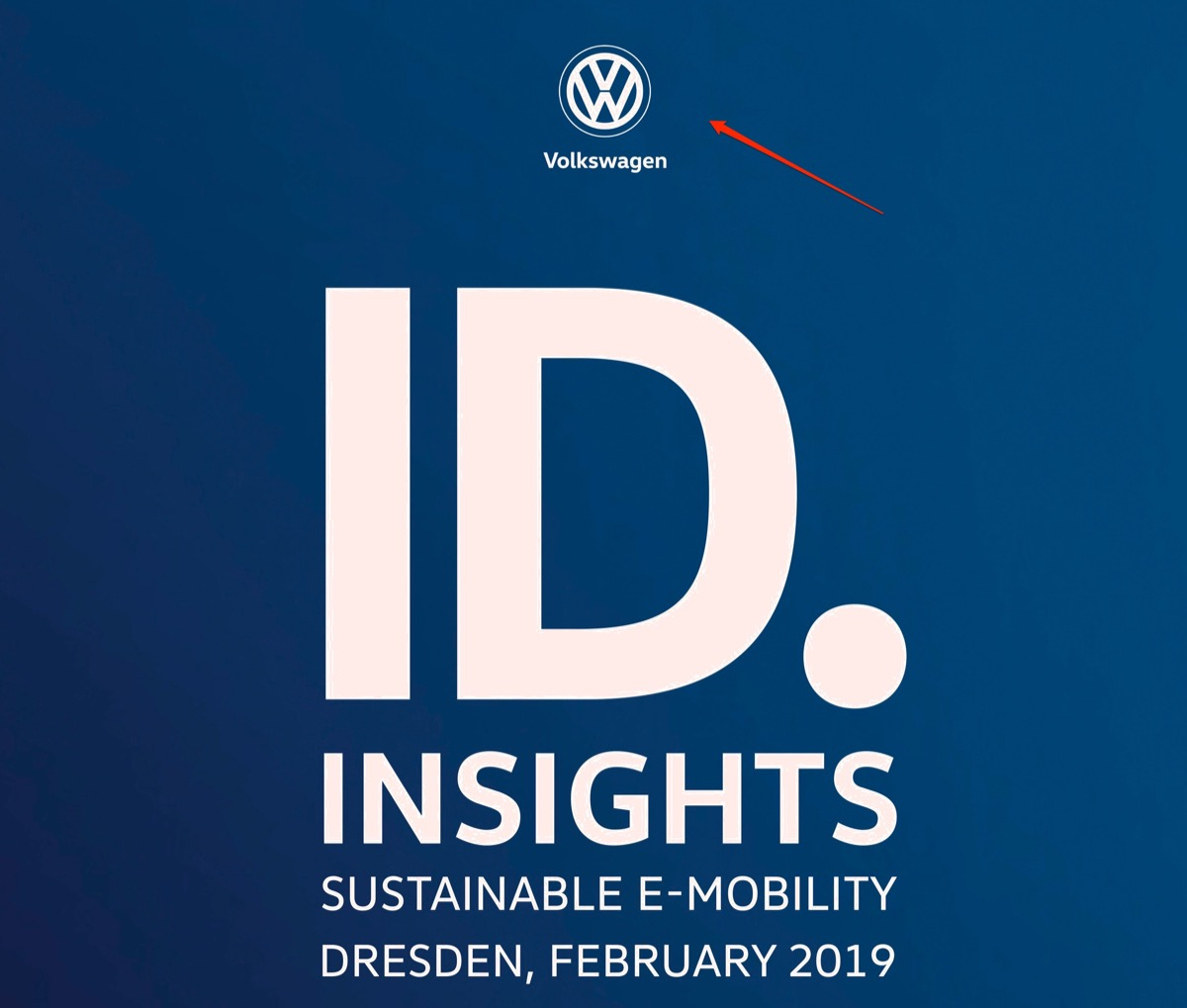 The Volkswagen I.d. Will Be The Pioneer Of Clean Mobility ñ Sy