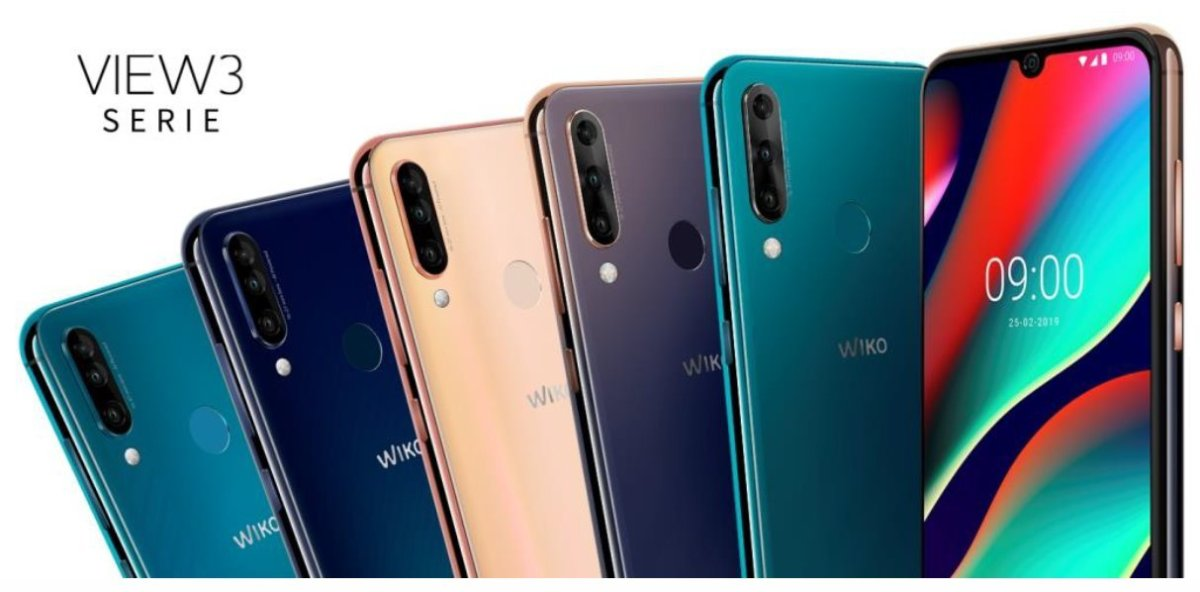 Wiko Mwc2019 View 3 Serie