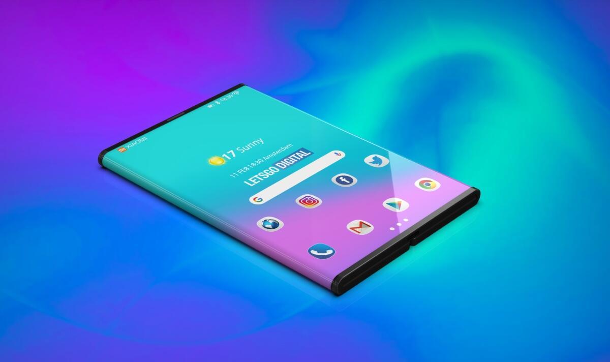 Xiaomi Faltbar Smartphone Konzept