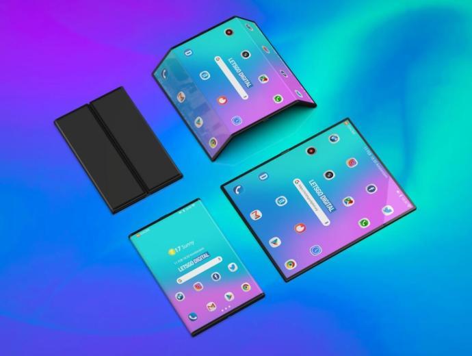 Xiaomi Faltbar Smartphone Konzept2