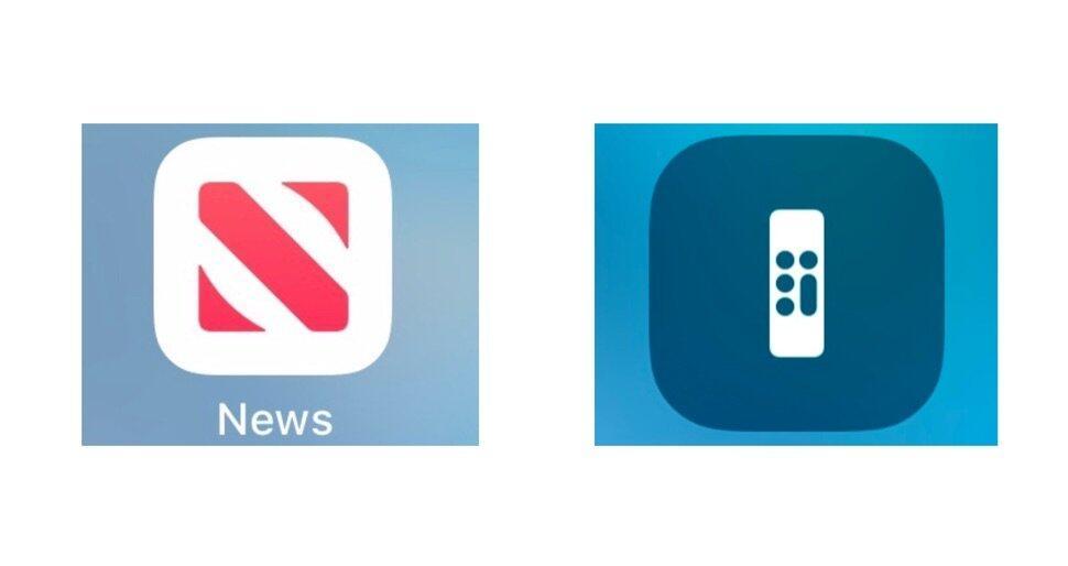 Apple News Remote Icon