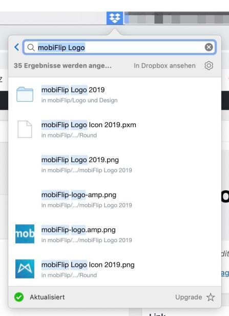 Dropbox Suche Neu 2019