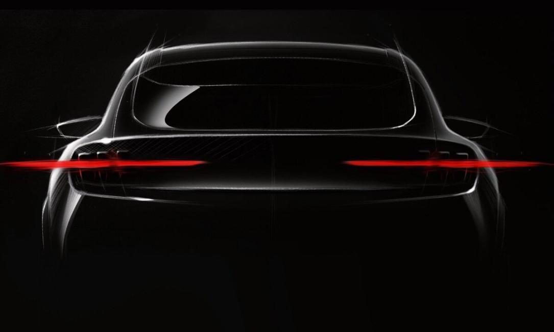 Ford Mustang Elektro Teaser