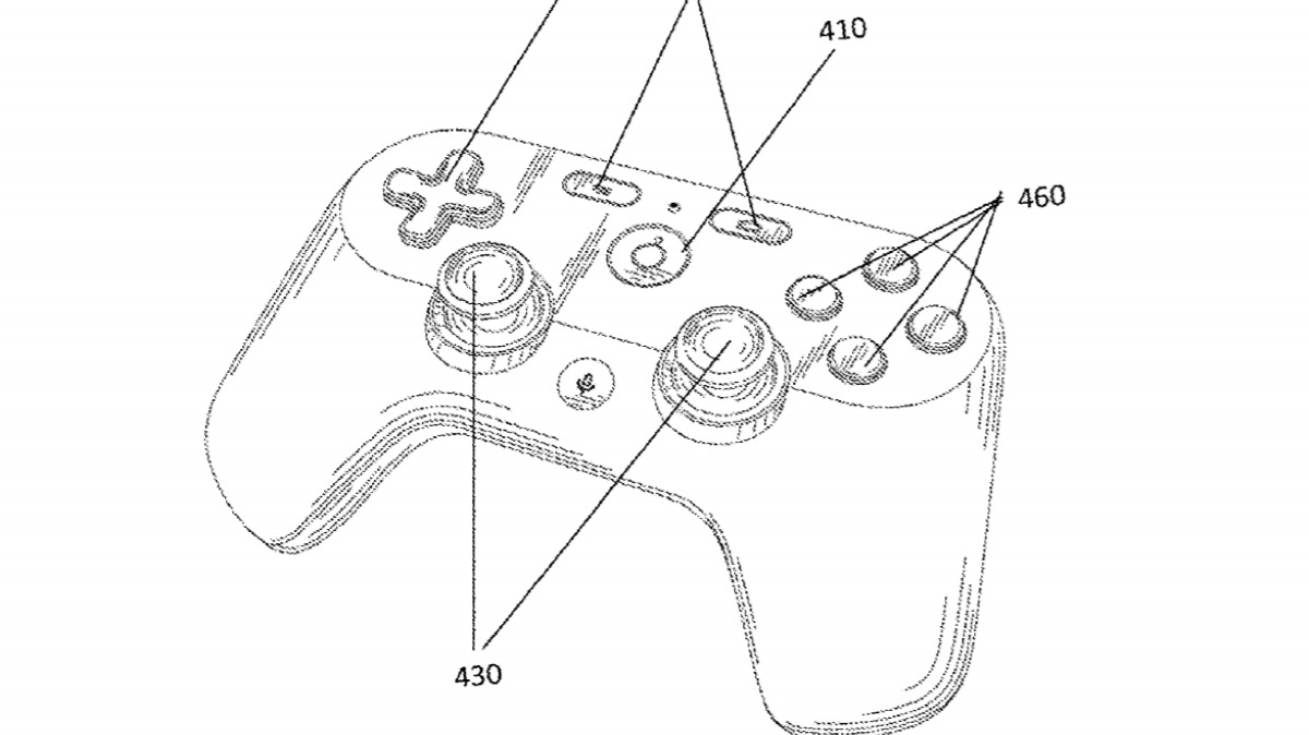 Google Gaming Controller Patent