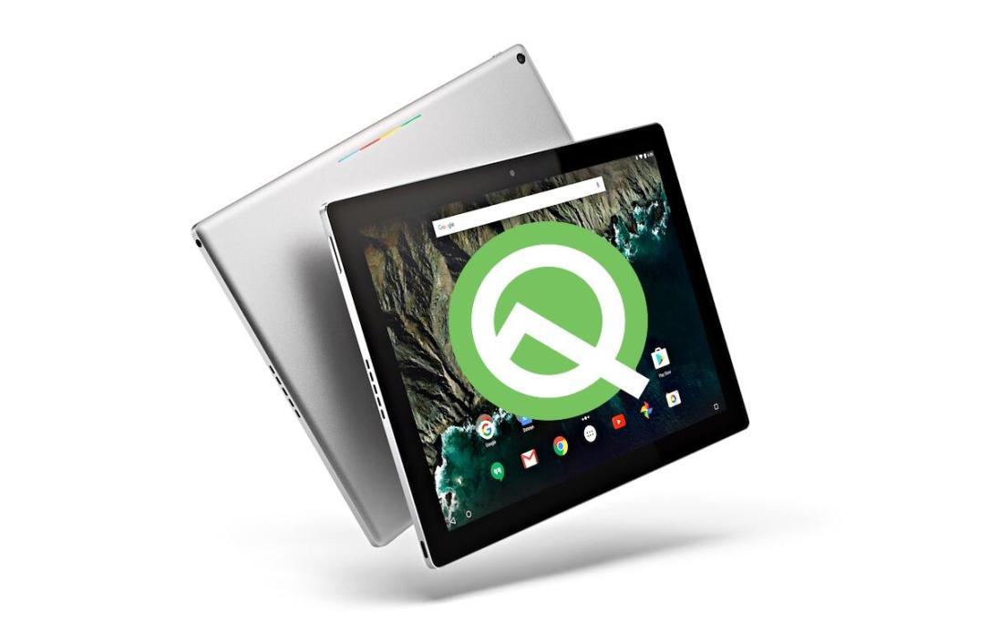 Google Pixel C Android Q Tablet Header